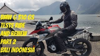 BMW G 310 GS Test Ride Review Part 2 Bali Indonesia1