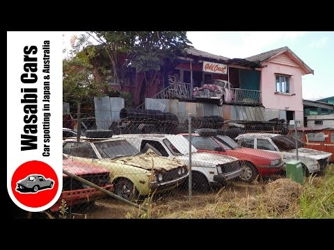 Rotting Japanese Cars on The Gold Coast - Auctioned in 2016