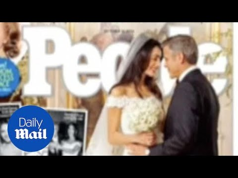 First look at George Clooney and Amal Alamuddin's wedding - Daily Mail