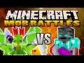 Soldier Bug Vs. Walker King - Minecraft Mob Battles
