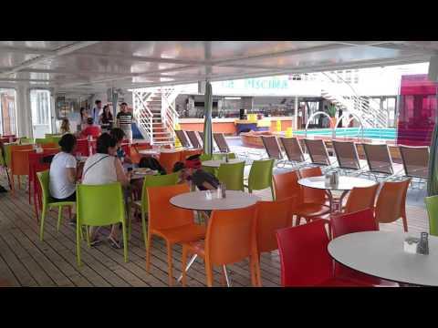 The ship Grand Celebration/Bahamas