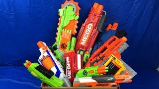 Big Box of Toy Guns for Kids Nerf Toy Weapons