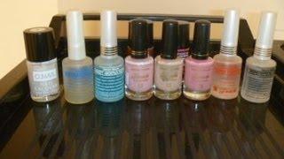 мой уход за ногтями, укрепители, цветные лаки-укрепители (Эмная эмаль, O.nail)(, 2013-02-04T14:28:18.000Z)