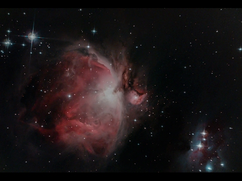 QHY10 CCD First Image, Orion Nebula Captured