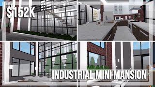 industriale Mini Mansion | Roblox Bloxburg velocità Build | GamingwithV