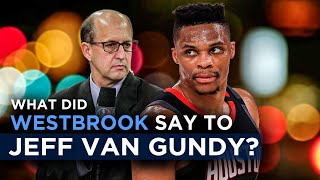 "Jeff Van Gundy had an honest conversation with Russell Westbrook about his ""next chapter"""
