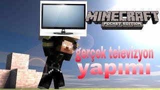 Gerçek televizyon yapımı Minecraft pe