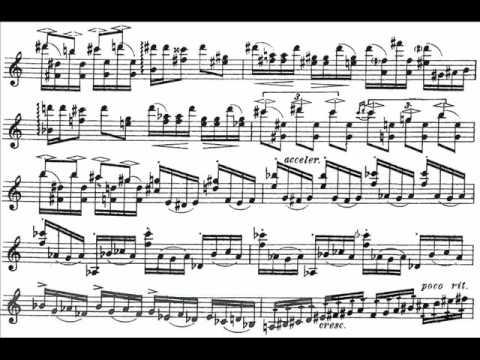 Khachaturian, Aram mvt1(begin) violin concerto Allegro con fermezza