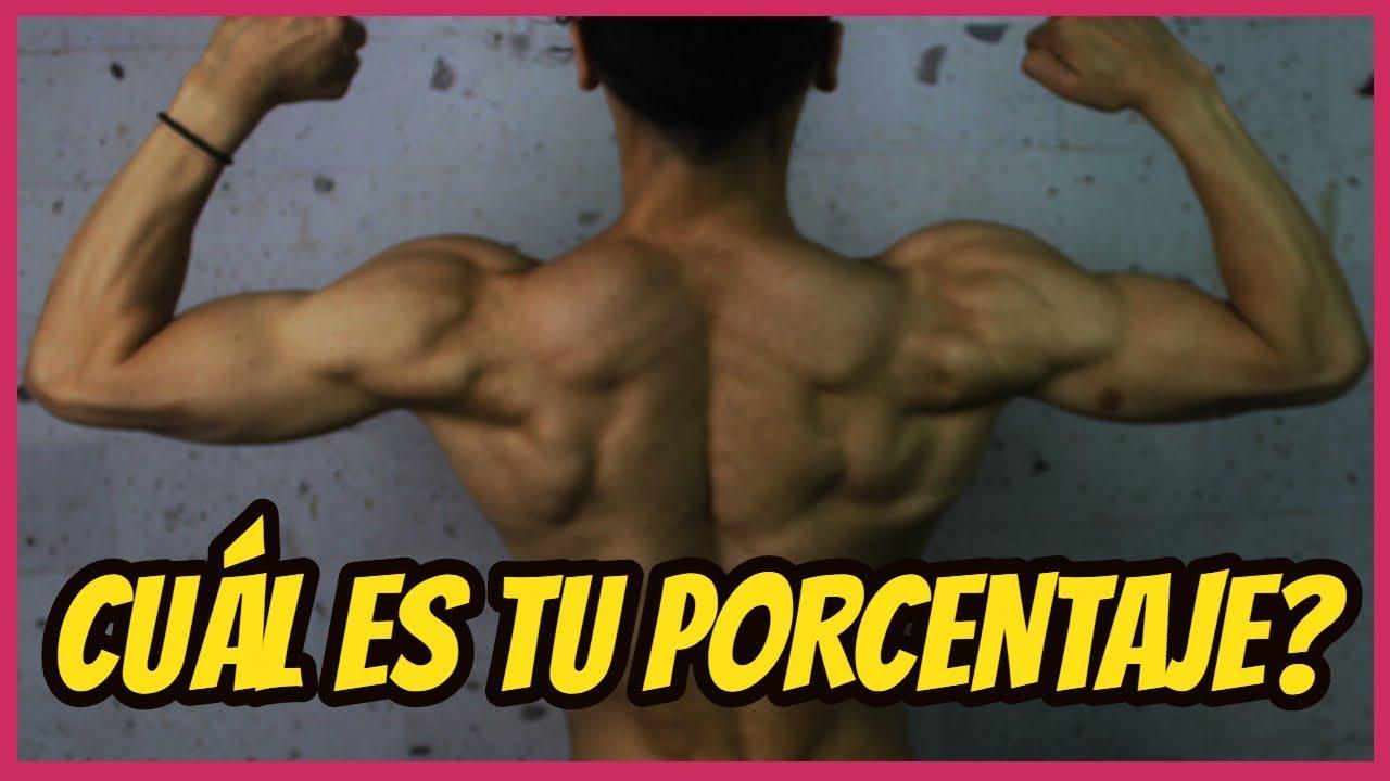 como elegir tu porcentaje de masa muscular
