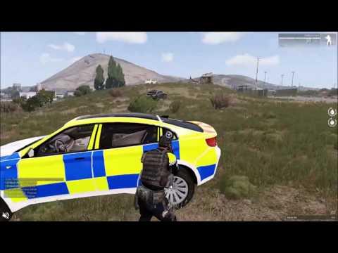 Grand Theft Arma | Frag Video #15 | [ Police ]  Eliran