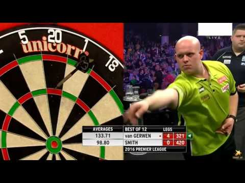 Betway Premier League Night Four GE Oil & Gas Arena, Aberdeen 2016 M.v.Gerwen v Michael Sm