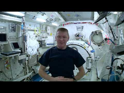 Tim Peake's dizziness experiment