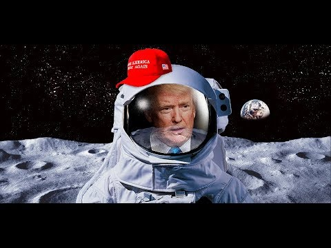 🔴 LIVE: President Donald Trump gives VITAL Speech on sending US astronauts 'back to the moon'