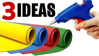 3 Ideas para Hacer y Vender con GOMA EVA - Regreso a Clases