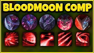 BLOODMOON TEAM COMP 2020 (ALL NEW SKINS) FT. NEW YOUTUBE SQUAD - League of Legends