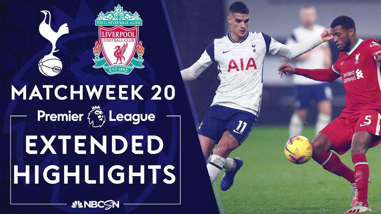 Download Tottenham v. Liverpool   PREMIER LEAGUE HIGHLIGHTS   1/28/2021   NBC Sports
