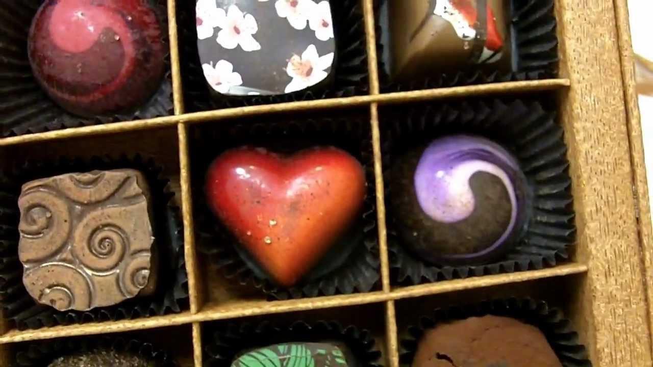 Pretty chocolate