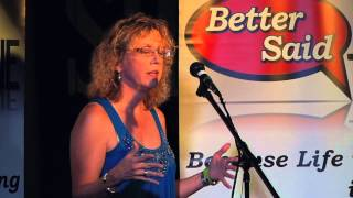 Kathy Stershic in Screwed at Better Said Than Done Storytelling