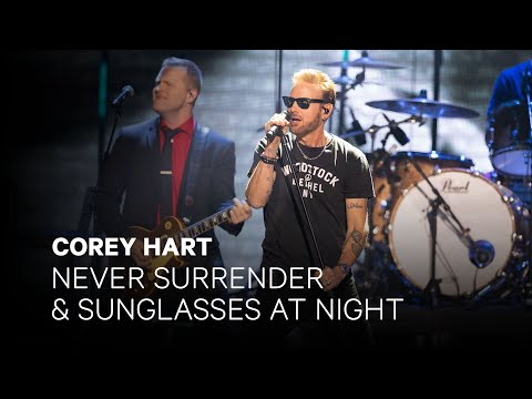 "Corey Hart - ""Never Surrender"" and ""Sunglasses at Night"" 