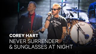"""Corey Hart - Never Surrender"""" and Sunglasses at Night""""   Live at The 2019 JUNO Awards"""