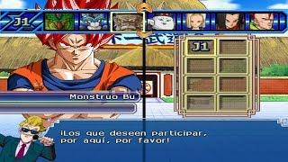 Dragon Ball Z Budokai Tenkaichi 3 - TORNEO DE MODS Goku SSJ God Red Nueva Transformación BETA #7