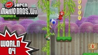 Newer Super Mario Bros. Wii - World 4 (1/2)