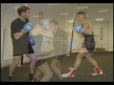 Steve Sibley Andrew Magill Ben Chambers Boxing