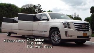 Cadillac Escalade Limo in NY for Rent From Legend Limousines, Inc.