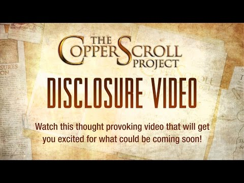The Copper Scroll Project - Disclosure