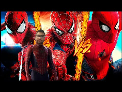 Reaccion SPIDERMAN VS SPIDERMAN VS SPIDERMAN ║ COMBATES MORTALES DE RAP ║ JAY-F