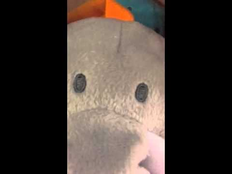 Elephant Plush Pull Music Box