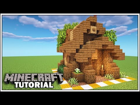 Minecraft 8x8 Starter House Tutorial [How To Build]
