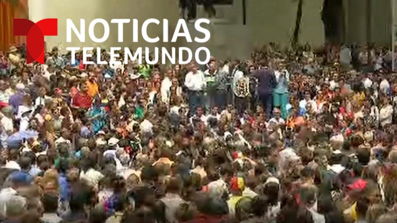 EN VIVO: Rueda de prensa de Juan Guaidó presidente encargado de Venezuela