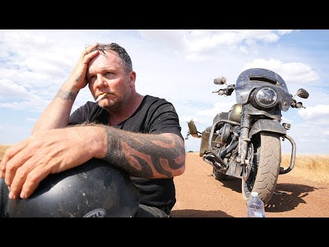 Riding A Stock HARLEY DAVIDSON To The Tip Of Australia - ROAD KING SPECIAL Part 1 Of 5