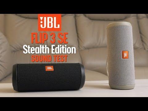 JBL Flip 3 Stealth Edition SE Vs JBL Flip 3 - Sound Test