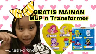 Gratis Mainan My Little Pony n Transformer dari Happy Meal McD 😍 Free MLP n Transformer Toys