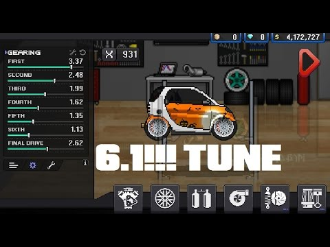 6 1 Pixel Car Racer Record Tune Parts For Smart X 931 By Relja
