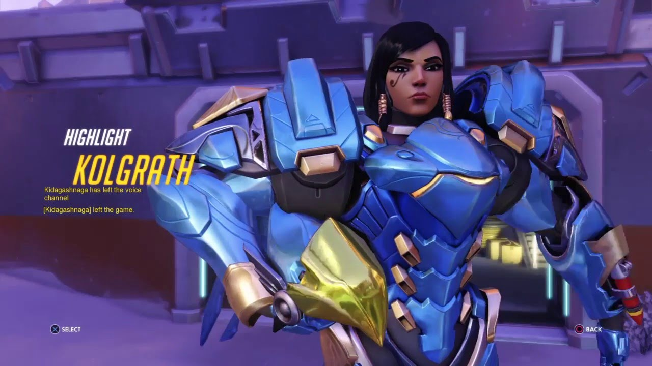 Overwatch the pharah special w audio 7
