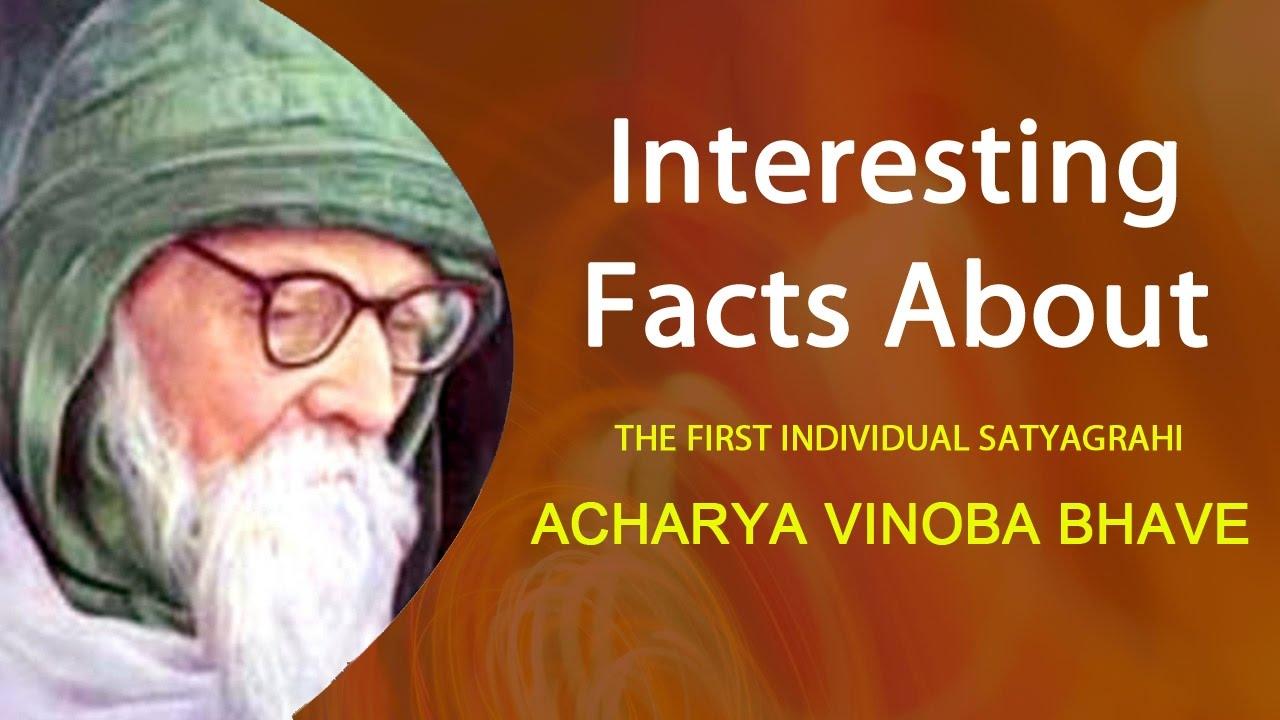 essay on vinoba bhave