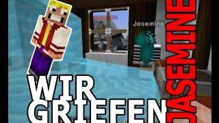 MineCraft - Wir griefen Jasemine