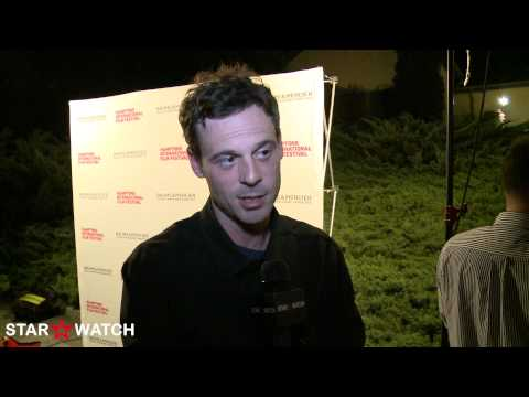 Scoot McNairy red carpet interview at 20th annual Hamptons International Film Festival