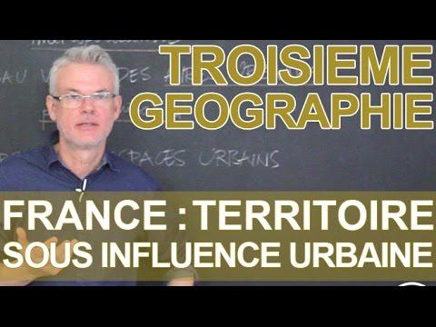 La France, un territoire sous influence urbaine - Histoire-Géo - 3e - Les Bons Profs