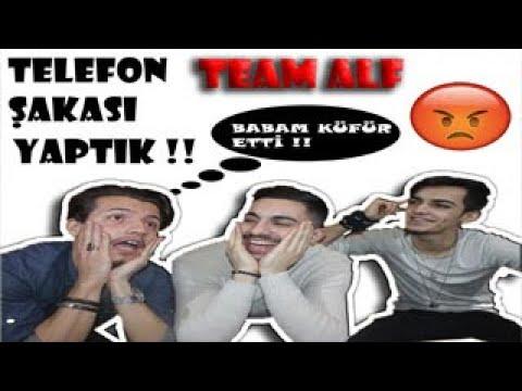 EFSANE TELEFON TROLÜ W/ Enes Çakmak, Can Yıldırım, Bilal Budak TEAM ALF