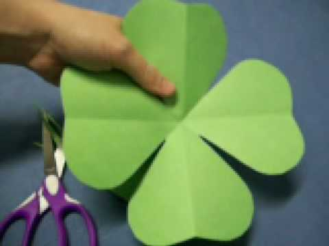 four leaf clover pattern by oneminutecrafts com youtube