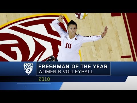 USC's Raquel Lázaro garners Pac-12 Women's Volleyball Freshman of the Year accolades