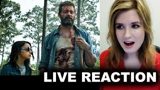 Logan 2017 trailer reaction