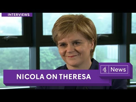 Nicola Sturgeon: May is 'weakest leader'