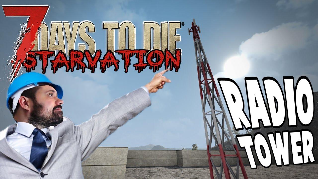 maxresdefault radio tower 7 days to die starvation e31 youtube  at honlapkeszites.co