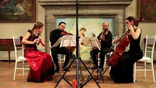 Mozart - Quartetto per flauto K285b - Quartetto Mozart