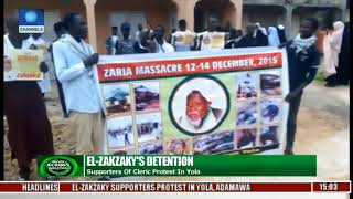 El Zakzaky's Detention: Supporters Of Cleric Protest In Yola